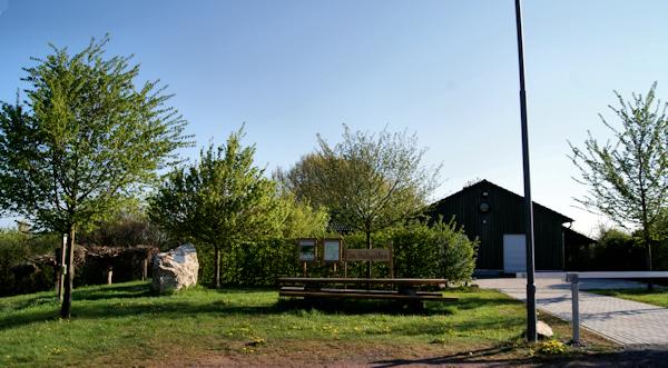 """Grillhütte in der Freizeitanlage """"Im Hallgarten"""""""