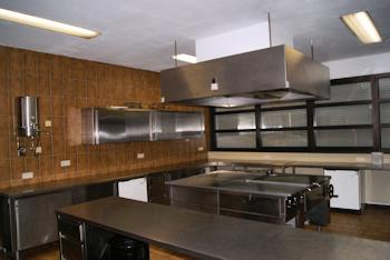 Küche in der Bürgerhalle