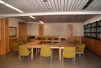 Sitzungssaal in der Bürgerhalle Mastershausen
