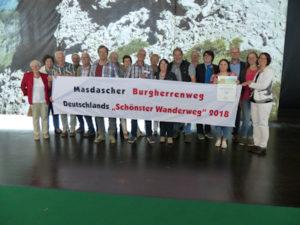 Masdascher Delegation auf der TourNatur Wandermesse & Trekkingmesse in Düsseldorf