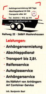 RSB-Anhänger